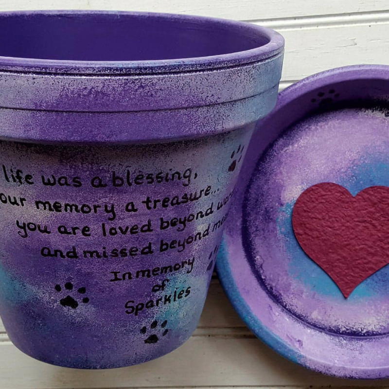 Pet-Memorial-for-Sparkles-in-Deep-Purple-and-Turquoise